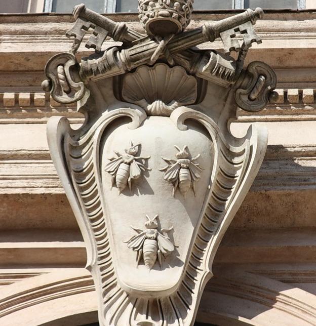 Герб Барберини с тремя пчелами