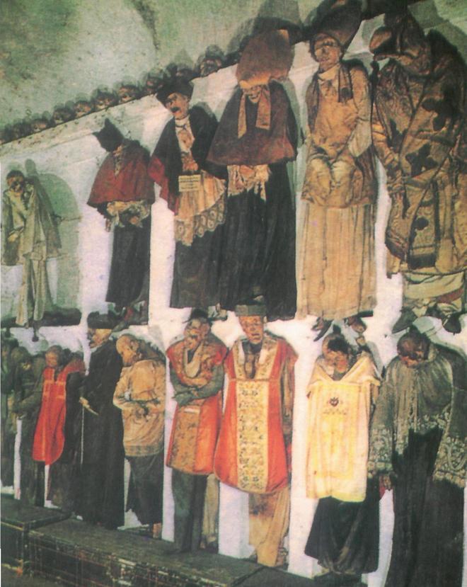 Коридор монахов - Катакомбы капуцинов в Палермо