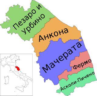 Провинции региона Марке