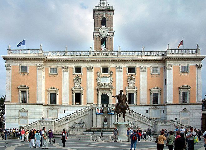 Дворец Сенаторов, Капитолий, Рим