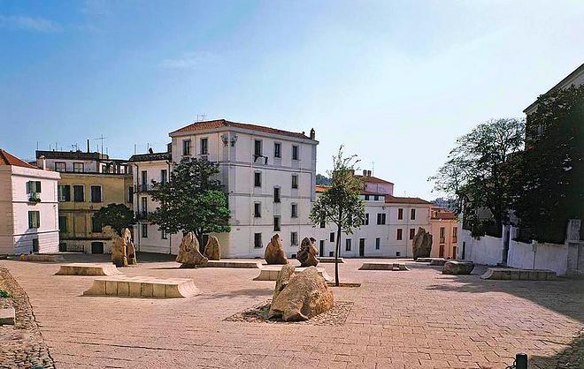 Площадь Сатта в Нуоро