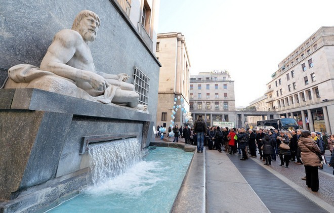По и Дора: очередное возрождение фонтанов в Турине