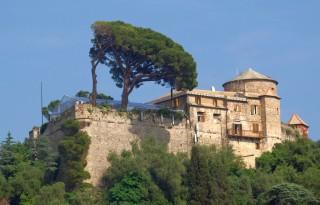 Крепость Кастелло Браун в Портофино
