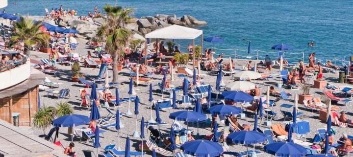 Пляж в Генуе