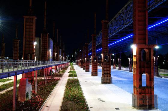 Парк Дора в Турине. Футуристические стальные джунгли