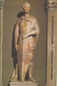 Национальный музей Барджелло - Донателло - Святой Георгий