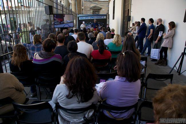 Фестиваль мороженого во Флоренции - мастер-класс
