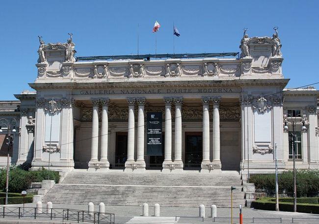 Чезаре Баццани. 1911 - Галерея современного искусства.