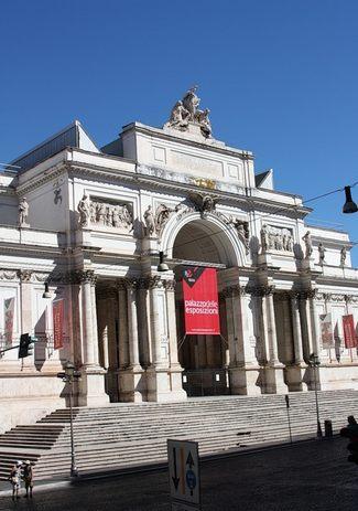 Palazzo delle Esposizioni. Пио Пьячентини. 1883 - Галерея современного искусства.