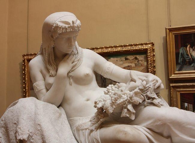 Альфонсо Бальцико (1825-1901). Клеопатра - Галерея современного искусства.