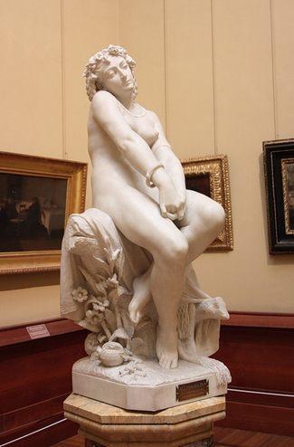 Альфонсо Бальцико (1825-1901). Полигимния - Галерея современного искусства.
