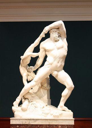 Антонио Канова. Геракл и Лик. (1795-1815) - Галерея современного искусства.