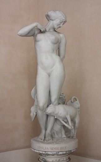 Эудженио Макканьяни. Similia Similibus (лат.выр. similia similibus curantur - лечи подобное подобным). 1913 - Галерея современного искусства.