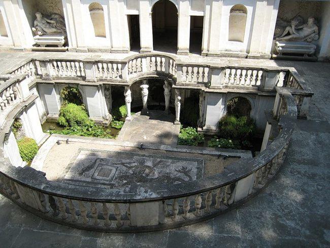 Национальный музей этрусского искусства - Вилла Джулия - Вид с балкона