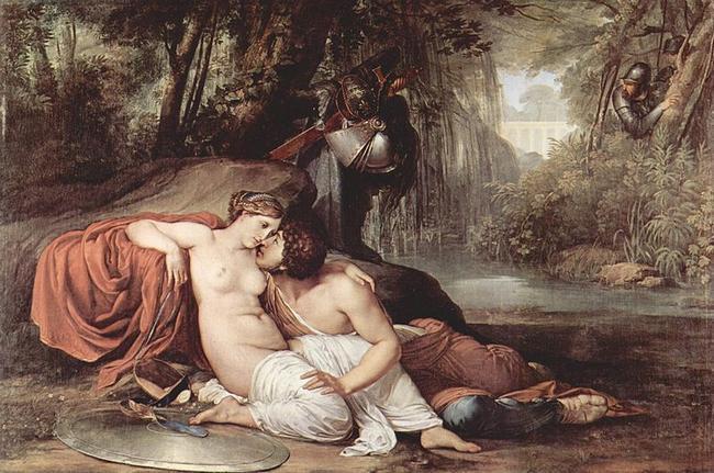 Франческо Хайес - Риналдо и Армида. 1814 год. Галерея Академии Венеции