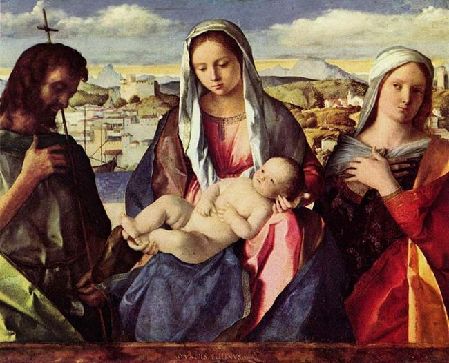 Джованни Беллини - Мадонна. 1500 год. Галерея Академии Венеции