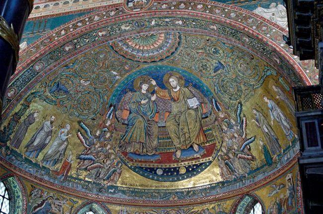 Мозаика Аспиды - Базилика Санта Мария Маджоре