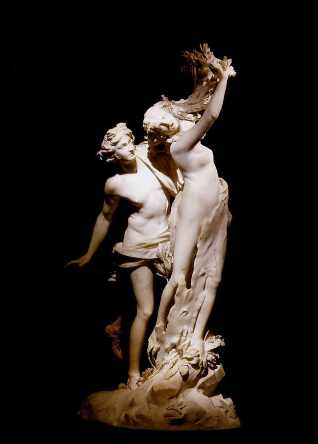 Аполлон и Дафна - Бернини - галерея Боргезе