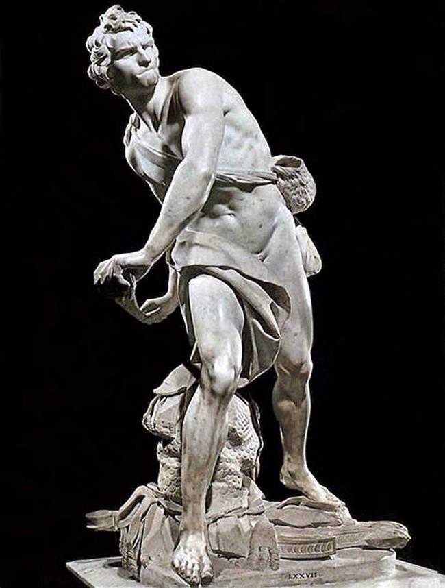 Давид -  Бернини - галерея Боргезе