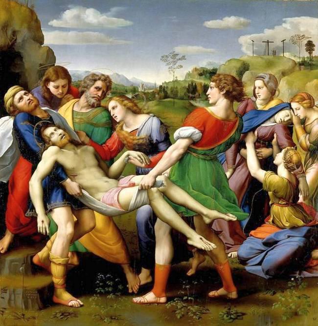 Снятие с креста - Рафаэль - галерея Боргезе