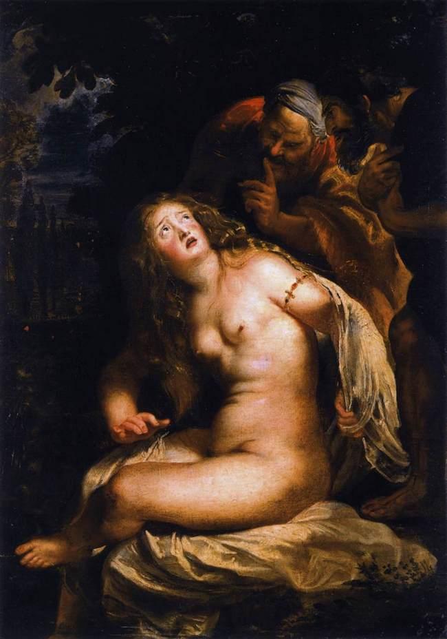 Святая Сусанна - Рубенс - галерея Боргезе