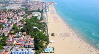 Отели и пляжи Каорле
