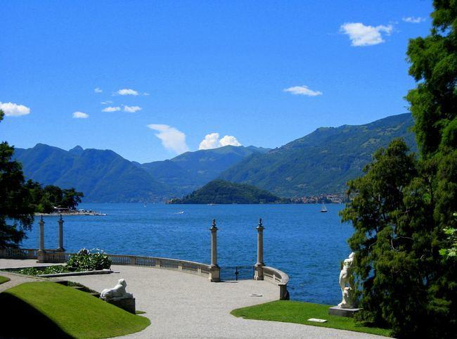 Панорама - озеро Комо