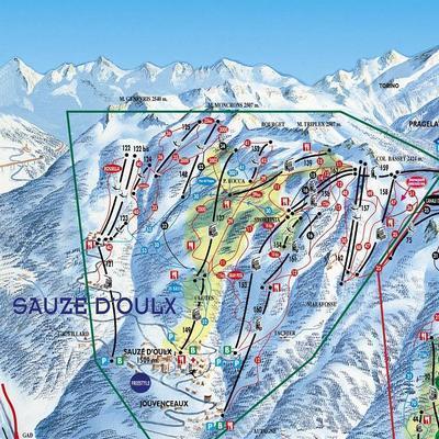 Карта маршрутов Соуз д'Уль