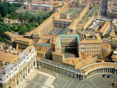 Ватиканские дворцы - Апостольский дворец