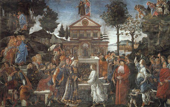 Ватиканские дворцы - Сикстинская капелла - Искушение Христа