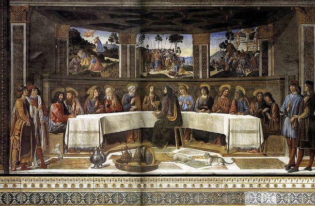 Ватиканские дворцы - Сикстинская капелла - Тайная вечеря