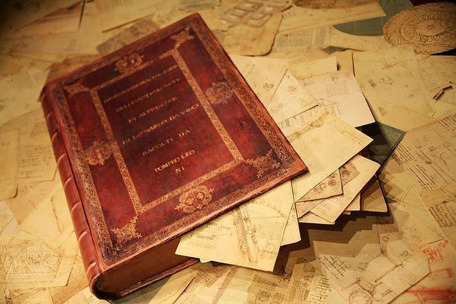 Леонардо да Винчи - Codice Atlantico - Амброзианская пинакотека