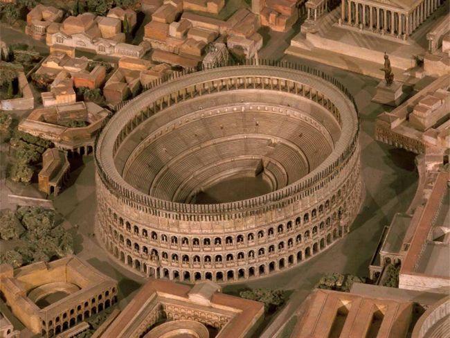 Колизей. Модель