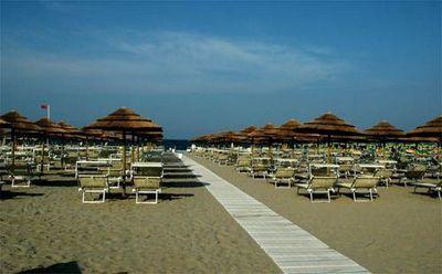 Пляжи Милано Мариттима