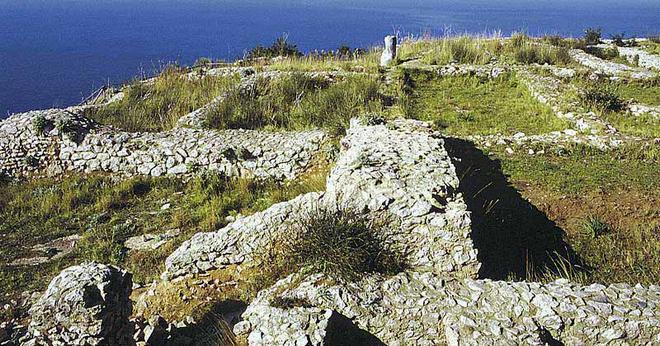 Вилла Дамекута - остров Капри