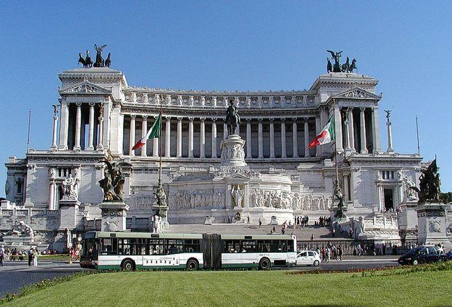 Панорама - Витториано - Памятник Виктору Эммануилу II