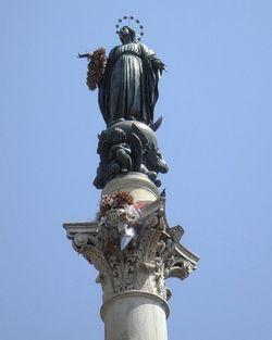Дева Мария - Колонна Непорочной - Площадь Испании