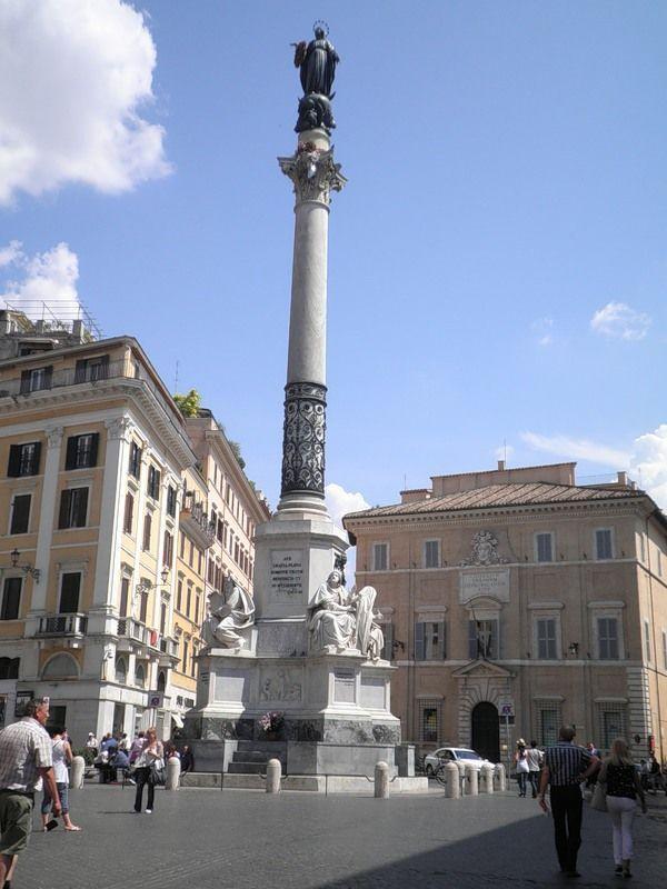 Колонна Непорочной - Площадь Испании