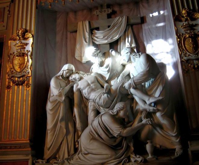 Снятие с креста - Церковь Тринита-дей-Монти - Площадь Испании