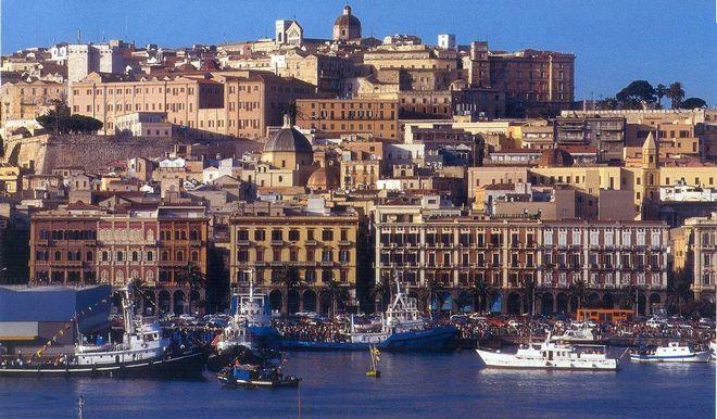 Панорама Кальяри - остров Сардиния