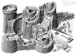 Модель типичного нурага с острова Сардиния