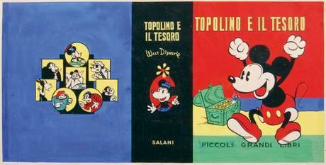 Иллюстрация к Тopolino e il tesoro