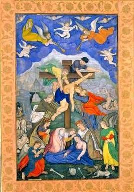 Распятие - Работа средневекового мастера