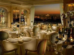 Вид из номера отеля Splendide Royal