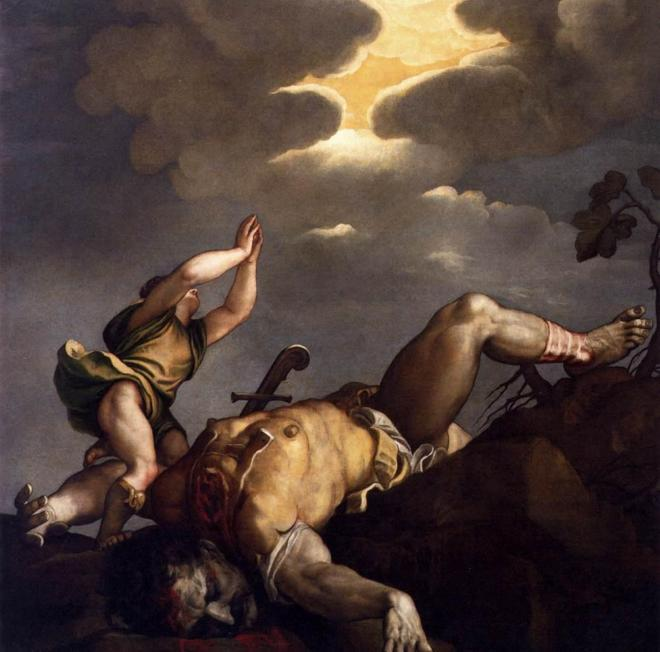 «Давид и Голиаф» Тициана