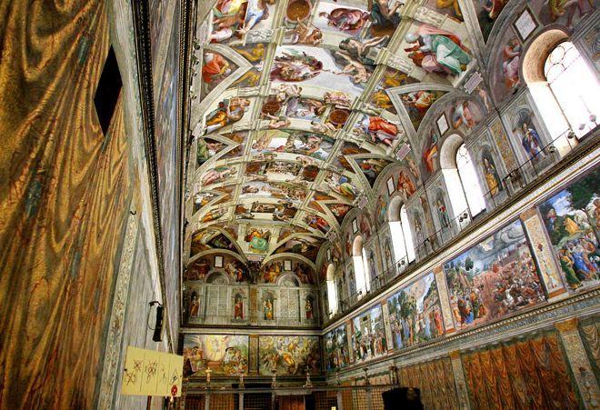 Фрески Секстинской капеллы