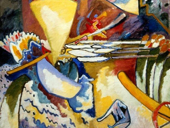 Одна из абстракций Кандинского