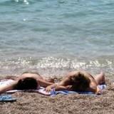 Лето вернулось: все на море