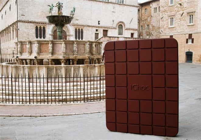 Скульптура из шоколада (Еврошоколад 2012 в Перудже)