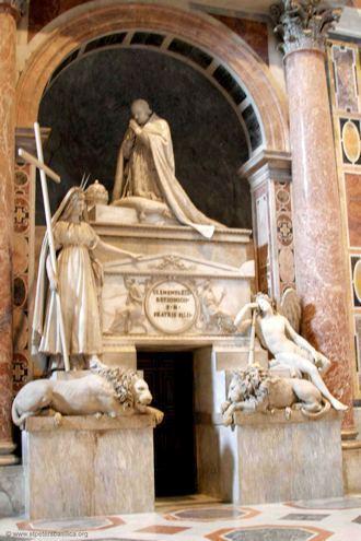 Надгробие Климета XIII - Канова